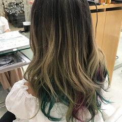 ハロウィン モード デート ミディアム ヘアスタイルや髪型の写真・画像
