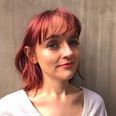 ミニボブ フェミニン 外国人風カラー ボブ ヘアスタイルや髪型の写真・画像