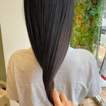 髪質改善トリートメント ナチュラル 艶髪 360度どこからみても綺麗なロングヘア