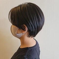 ショート ヘアカット ショートヘア コンパクトショート ヘアスタイルや髪型の写真・画像