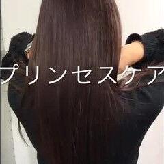 プリンセストリートメント ロング 女子力 プリンセス ヘアスタイルや髪型の写真・画像