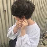 デート 黒髪 ショート 簡単ヘアアレンジ