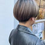 ストリート 刈り上げ女子 刈り上げ マッシュヘア