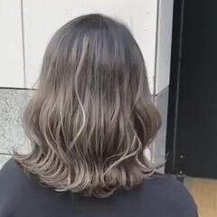 トレンド アディクシーカラー ブリーチ ハイライト ヘアスタイルや髪型の写真・画像