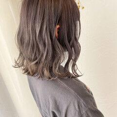 可愛い ブリーチカラー ナチュラル可愛い ブリーチオンカラー ヘアスタイルや髪型の写真・画像