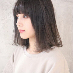 簡単ヘアアレンジ アンニュイほつれヘア ミディアム ナチュラル ヘアスタイルや髪型の写真・画像