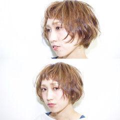 大人かわいい ハイライト モード ボブ ヘアスタイルや髪型の写真・画像