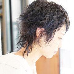 パープルアッシュ ストリート ショート ショートヘア ヘアスタイルや髪型の写真・画像