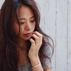 ハイライト 外国人風 エレガント ロング ヘアスタイルや髪型の写真・画像