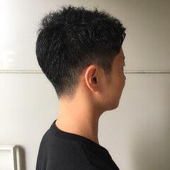 ショート メンズカット メンズヘア ナチュラル ヘアスタイルや髪型の写真・画像