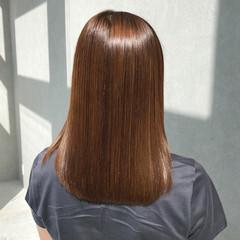 最新トリートメント ナチュラル 美髪 縮毛矯正 ヘアスタイルや髪型の写真・画像
