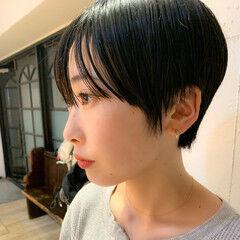 クール ショートヘア ベリーショート 大人可愛い ヘアスタイルや髪型の写真・画像
