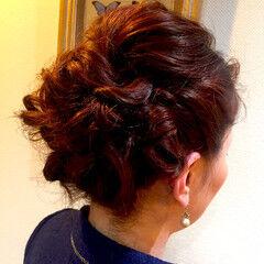 ミディアム ヘアアレンジ かわいい ショート ヘアスタイルや髪型の写真・画像