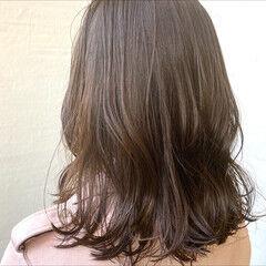 デート ミディアム ナチュラル TOKIOトリートメント ヘアスタイルや髪型の写真・画像