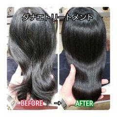 ナチュラル 髪質改善 美髪 名古屋市守山区 ヘアスタイルや髪型の写真・画像