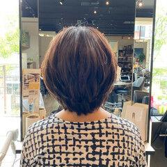 艶髪 エレガント 大人可愛い ミディアム ヘアスタイルや髪型の写真・画像