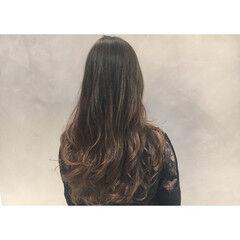 ロング ハイライト 外国人風 上品 ヘアスタイルや髪型の写真・画像