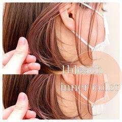 レイヤーカット 髪質改善トリートメント 透明感カラー 小顔ヘア ヘアスタイルや髪型の写真・画像