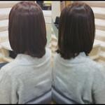 髪質改善 髪質改善カラー ナチュラル ミディアム