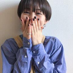 ショートヘア ベリーショート マッシュ ショートマッシュ ヘアスタイルや髪型の写真・画像