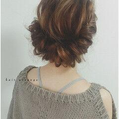 ギブソンタック ロング 大人かわいい 外国人風 ヘアスタイルや髪型の写真・画像