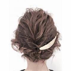 アップスタイル 愛され モテ髪 コンサバ ヘアスタイルや髪型の写真・画像