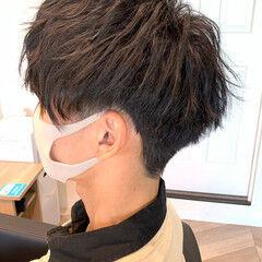 ショートマッシュ ツーブロック メンズヘア ショート ヘアスタイルや髪型の写真・画像