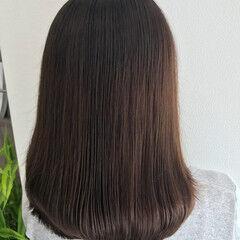 縮毛矯正 最新トリートメント ナチュラル 髪質改善 ヘアスタイルや髪型の写真・画像