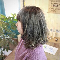ナチュラル 3Dハイライト 外国人風カラー マット ヘアスタイルや髪型の写真・画像