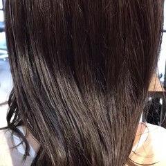 秋冬スタイル 秋ブラウン ナチュラル ミディアム ヘアスタイルや髪型の写真・画像