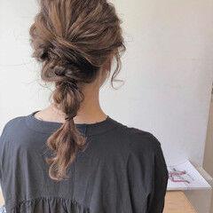 ナチュラル セット ヘアセット ゆるふわセット ヘアスタイルや髪型の写真・画像