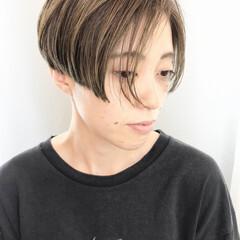 ショート モード ハンサムショート ハンサム ヘアスタイルや髪型の写真・画像