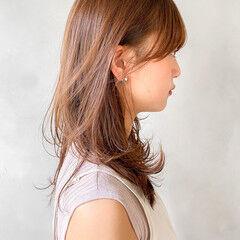 ナチュラルベージュ ピンクブラウン レイヤーカット ショートボブ ヘアスタイルや髪型の写真・画像