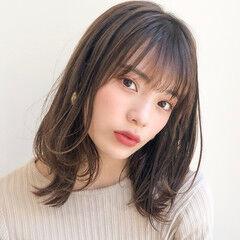 ヘアアレンジ デジタルパーマ アンニュイほつれヘア モテ髪 ヘアスタイルや髪型の写真・画像
