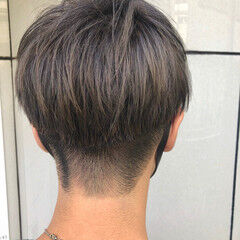 モード メンズ メンズカット メンズマッシュ ヘアスタイルや髪型の写真・画像