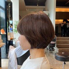 美シルエット アンニュイほつれヘア ハンサムショート ウザバング ヘアスタイルや髪型の写真・画像