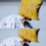 モード ボブ カラーバター 前髪パッツン