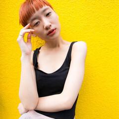 大人女子 ベリーショート モード ショート ヘアスタイルや髪型の写真・画像