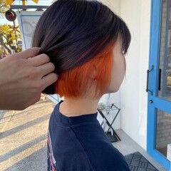ダメージレス フェミニン 艶カラー ブリーチ必須 ヘアスタイルや髪型の写真・画像