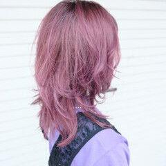 ストリート ネオウルフ ウルフレイヤー ウルフカット ヘアスタイルや髪型の写真・画像