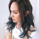 髪質改善 セミロング 髪質改善カラー ナチュラル