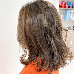 パーマ デジタルパーマ 無造作パーマ 無造作ミックス ヘアスタイルや髪型の写真・画像