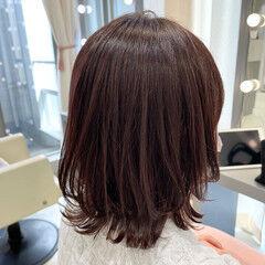 ボブ レイヤーカット ミルクティーベージュ 銀座美容室 ヘアスタイルや髪型の写真・画像