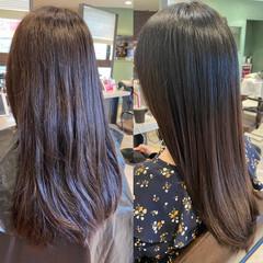 ヘアケア 髪質改善トリートメント 髪質改善 ロング ヘアスタイルや髪型の写真・画像