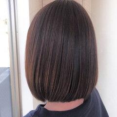 名古屋市守山区 トリートメント ボブ ナチュラル ヘアスタイルや髪型の写真・画像
