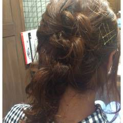 ヘアアクセ ロング 大人かわいい ショート ヘアスタイルや髪型の写真・画像