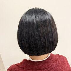 イメチェン ショートボブ ボブ ミニボブ ヘアスタイルや髪型の写真・画像