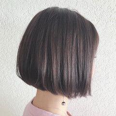 簡単ヘアアレンジ グレージュ 黒髪 ナチュラル ヘアスタイルや髪型の写真・画像