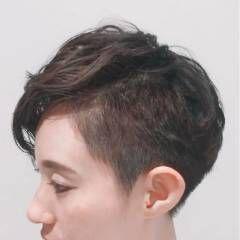 ショート 刈り上げ ストリート 外国人風 ヘアスタイルや髪型の写真・画像