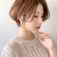 髪質改善トリートメント アンニュイほつれヘア 大人かわいい ショート ヘアスタイルや髪型の写真・画像